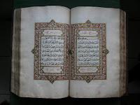 Inilah Qur'an Koleksi Masjid Demak