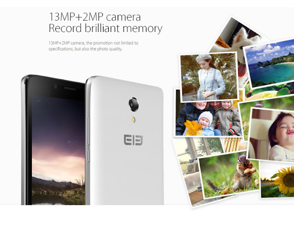 Elephone P6000 - Camera