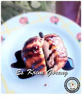 Resep Cara Membuat Es Krim Goreng Vanilla Gurih dan Lembut
