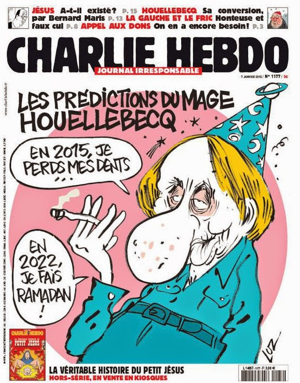 Dr Tony Shaw Charlie Hebdo And Michel Houellebecq
