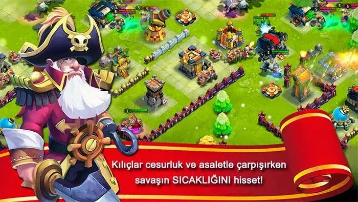 Android Kale Savaşı: Castle Clash Apk resimi 4