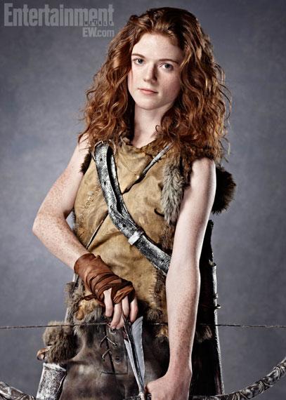 Ygritte Rose Leslie  Entertainment  Weekly - Juego de Tronos en los siete reinos