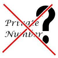 Aplikasi  Pendeteksi Private Number