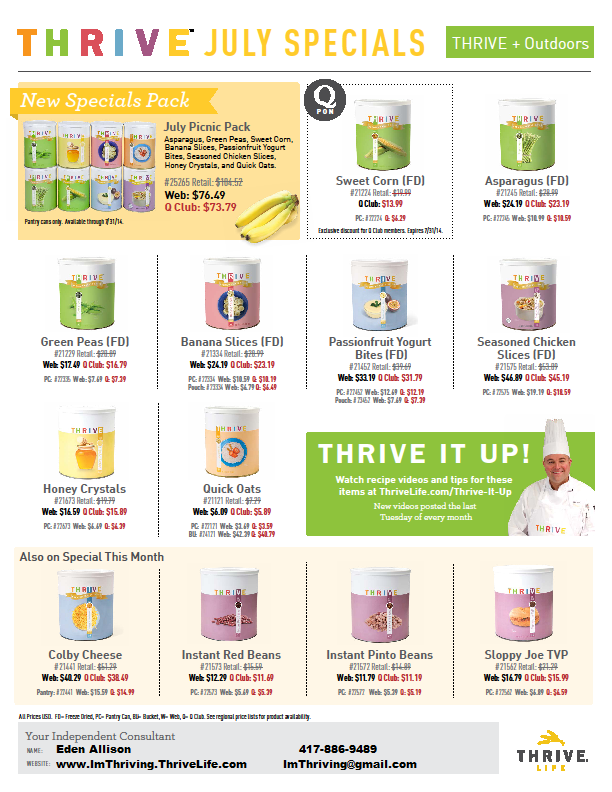 http://ImThriving.ThriveLife.com/July-specials.html
