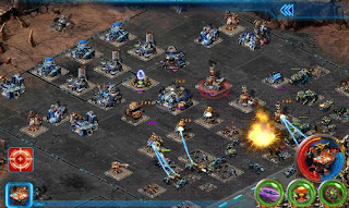 Screenshots of the Clash of star war for Android tablet, phone.