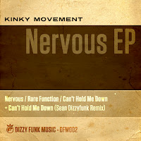 Kinky Movement Nervous EP Dizzy Funk Music