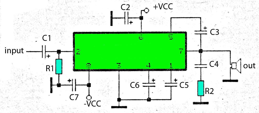 subwoofer amplifier with 30w output power rh rangkaianlo blogspot com