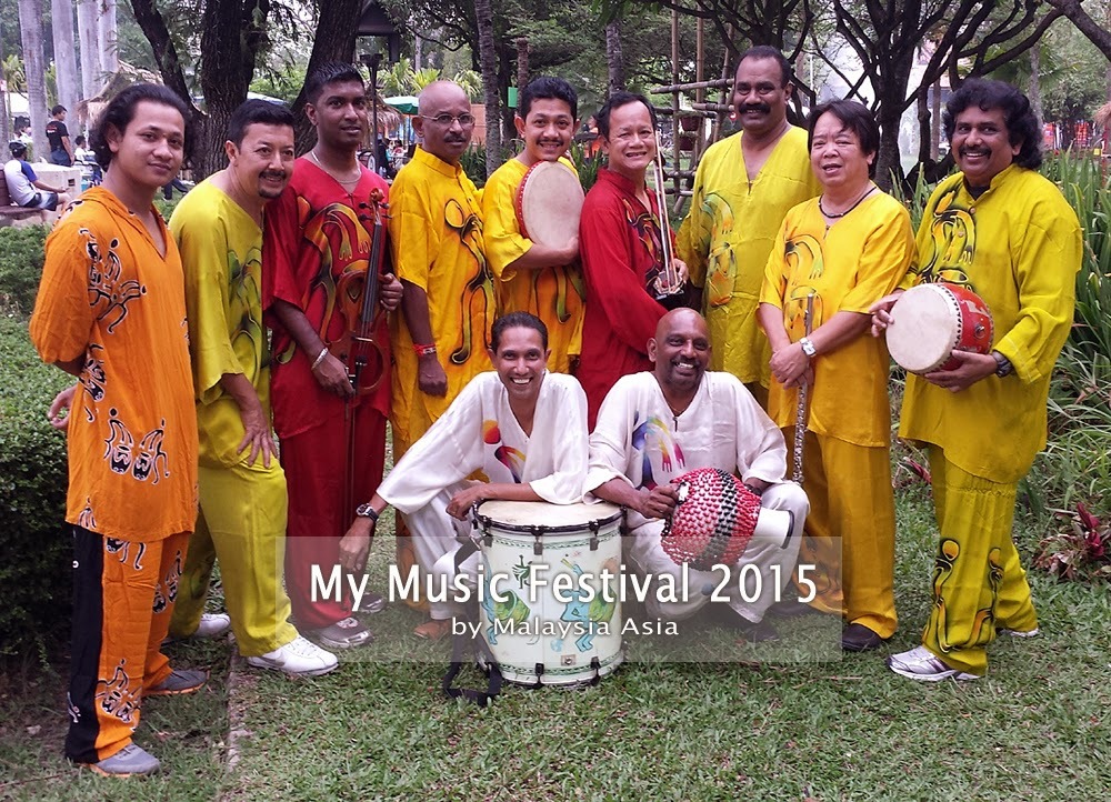Aseana Percussion Unit My Music Festival Malaysia
