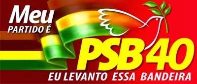 PSB 40 - EU LEVANTO ESSA BANDEIRA