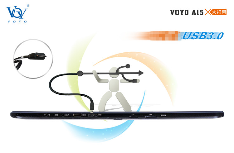 USB3.0 interface  Of Orient VOYO A15