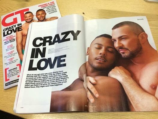 Marcus Collins Robin Windsor Gay Times