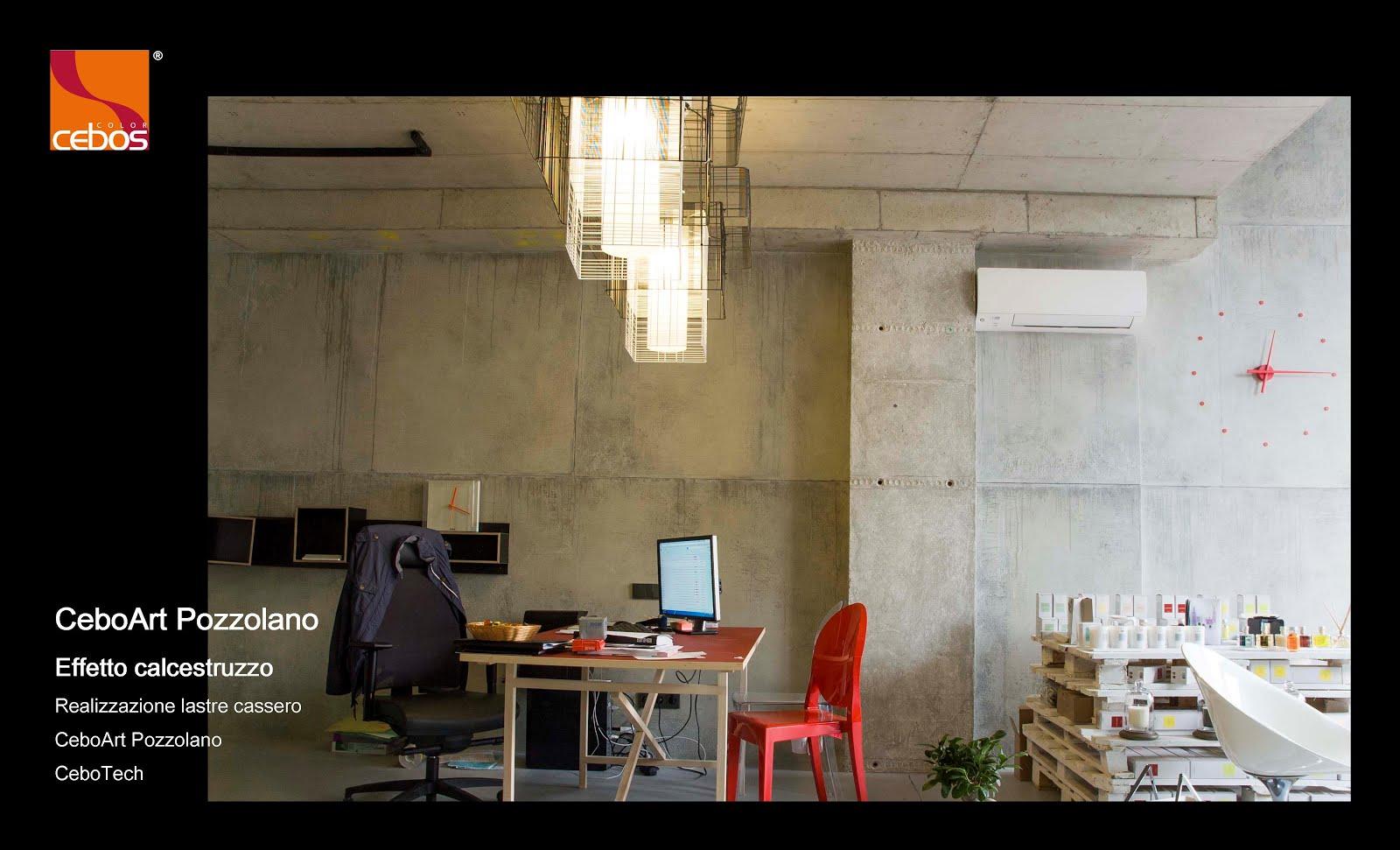 Pittura Cemento Design: Applicare un effetto cemento cerato ...