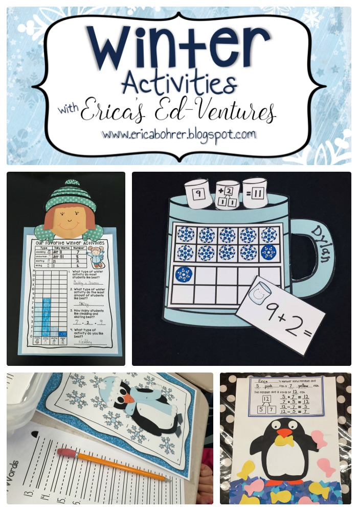 Classroom Winter Ideas ~ Winter classroom activities