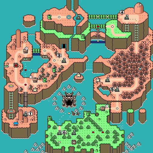 Niveles de Super Mario World. 20090830142112Super_Mario_World_Map