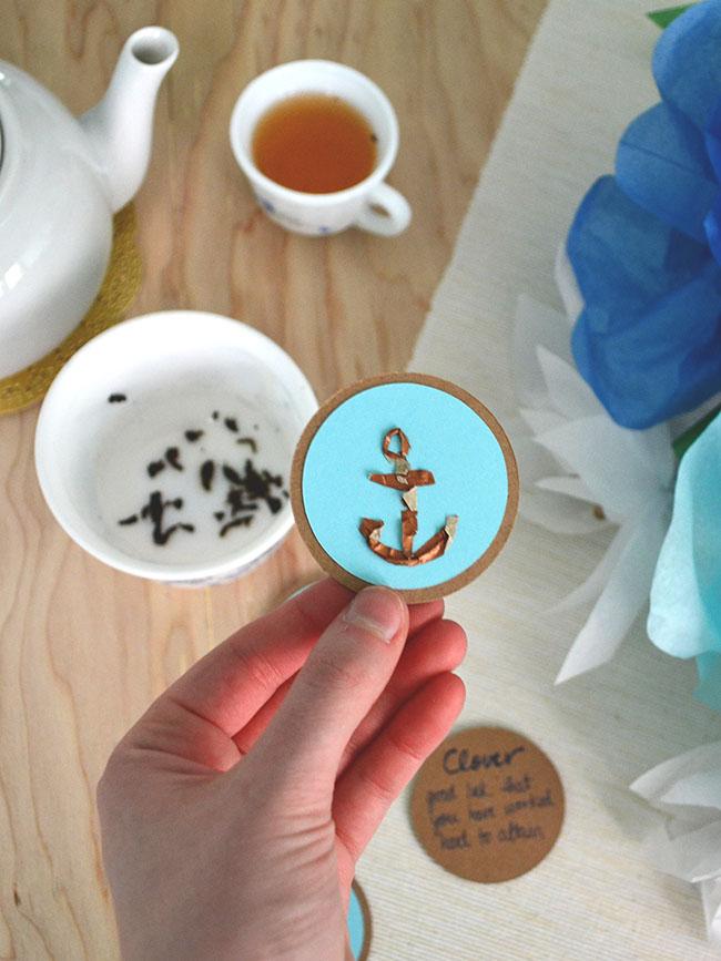 Snowdrop And Company Diy Tea Leaf Reading Cards