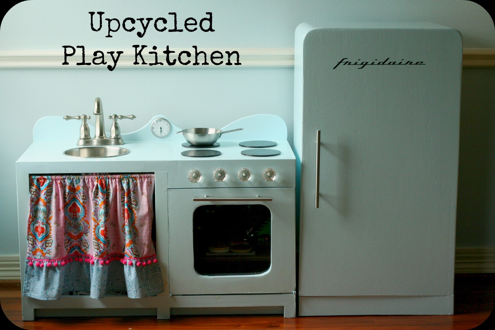 Huckleberry Love: Upcycled Play Kitchen