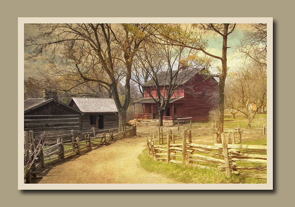 Daniel Stong's second house at Black Creek Pioneer Village. Holly Cawfield Photography
