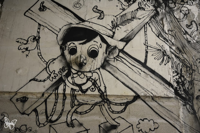 New Indoor Mural By The Popular French Street Artist Dran For The Lasco Project - Palais De Tokyo, Paris. 2