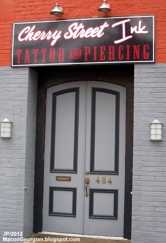 CHERRY STREET INK TATTOO & PIERCING MACON GEORGIA Cherry St., Cherry  title=