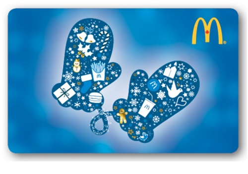 12 Days of Christmas Giveaways Day 10 - $25 McDonalds gift card