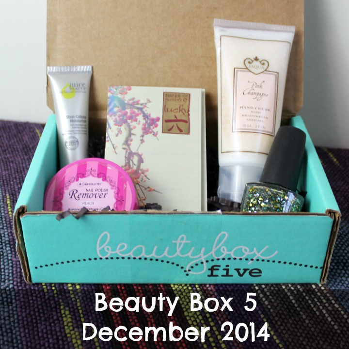 Beauty Box 5 December 2014: Merry & Bright review unboxing