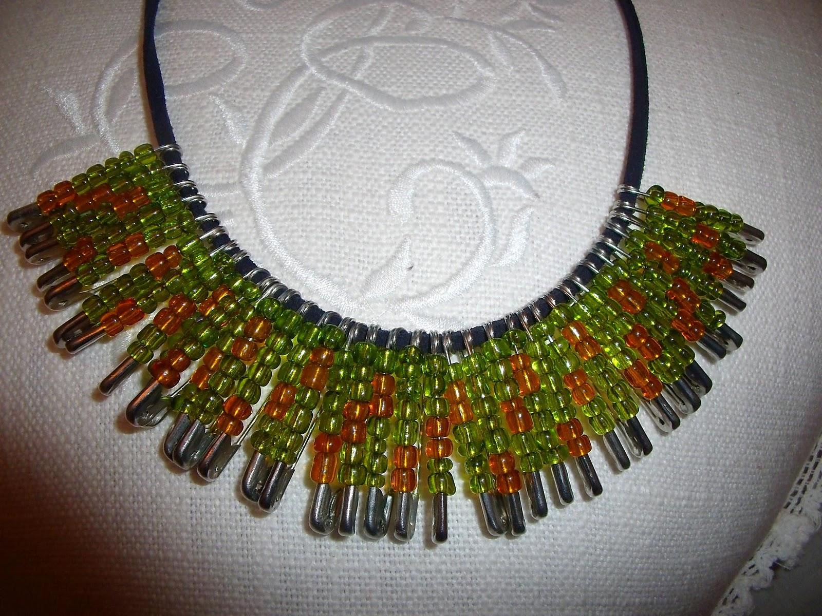 Como hacer collares de moda 2011