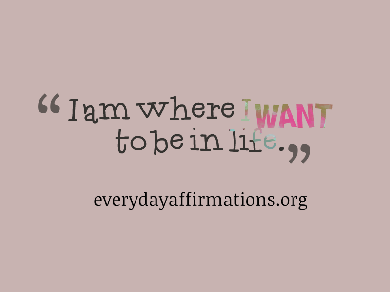Affirmations for a Good Life13