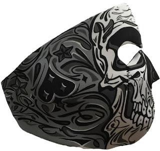 Cristo Skull Neoprene Face Mask