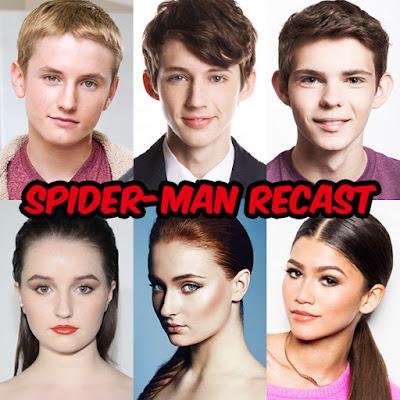 Recast: Spider-Man 映画『スパイダーマン』を勝手にキャスティング