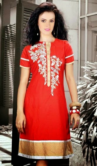 Trendsetter Designer Kurtis Collection 2014