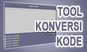pasang tool konversi kode