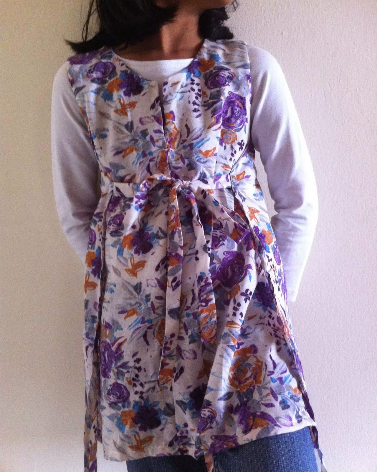 sewing wrap dress