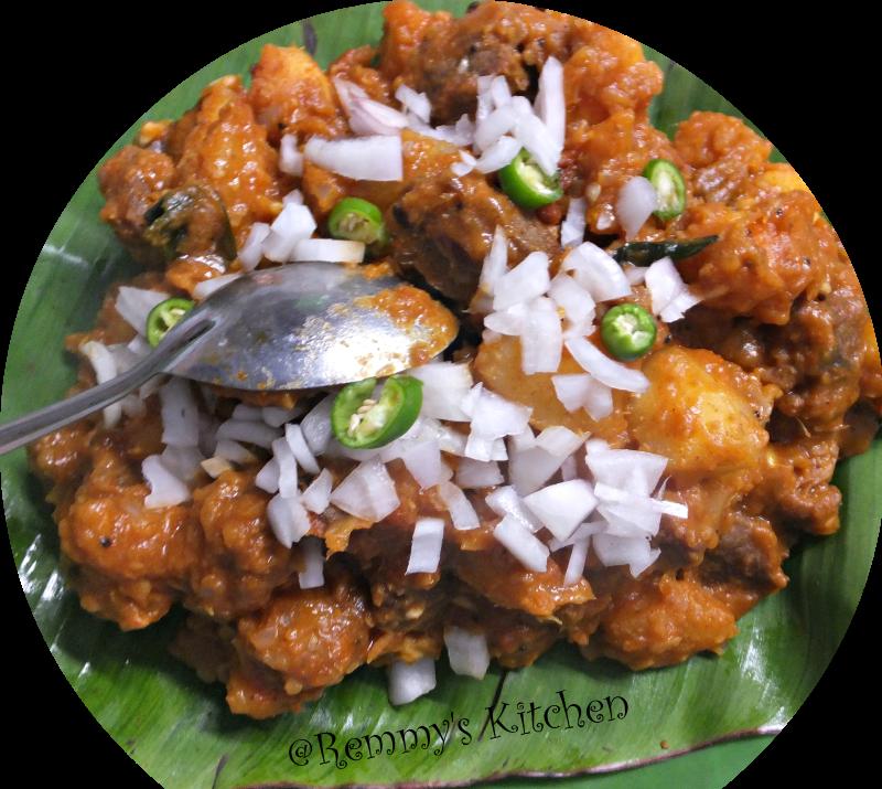 kappayum Irachiyum / Tapioca with beef