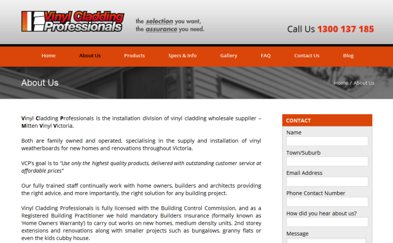 trusted vinyl cladding suppliers and installation contractors