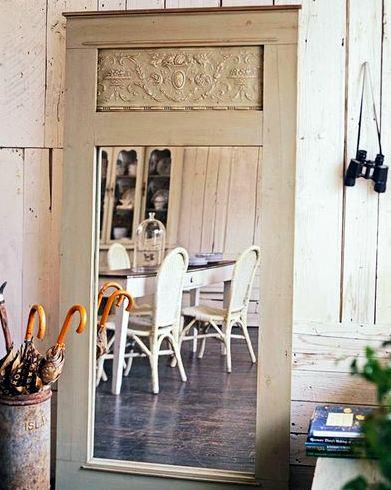 recycled antique door