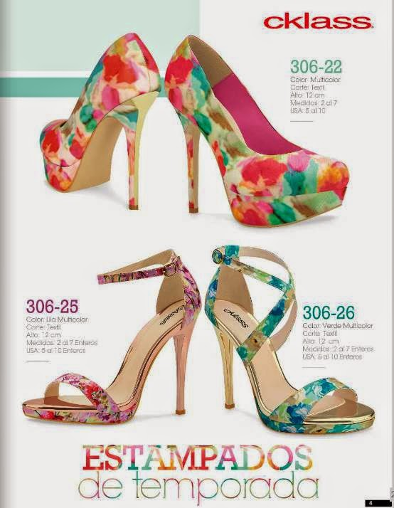 Zapatos Florales Cklass PV 2015