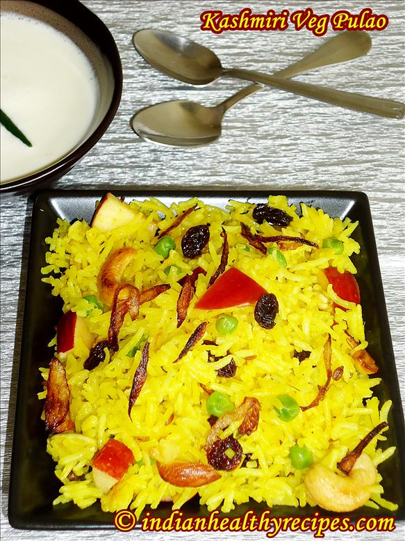 kashmiri pulao 
