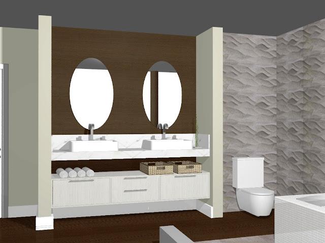 Casa de Papel Capricho no banheiro! -> Cuba Para Banheiro Cascavel