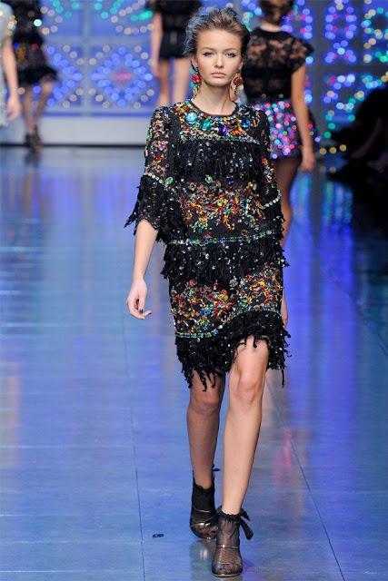 dolce gabbana70 - Dolce&Gabbana Ilkbahar 2012 | Milan Moda Haftas�