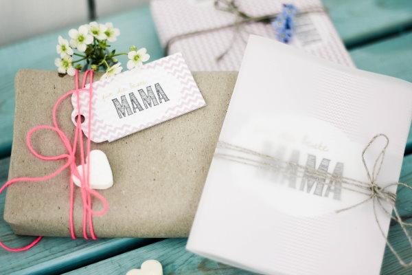 Muttertag: Kostenlose Karten und Geschenkanhänger zum Ausdrucken