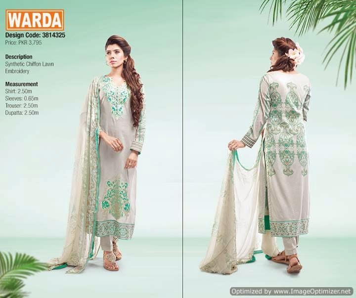 Summer-Lawn-Dress-Collection-2015-for-Modish-Girls