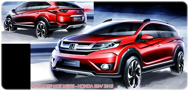 Mobil Honda BR-V Terbaru 2015 Bakal Meluncur di Ajang Gaikindo Indonesia International Auto Show 2015