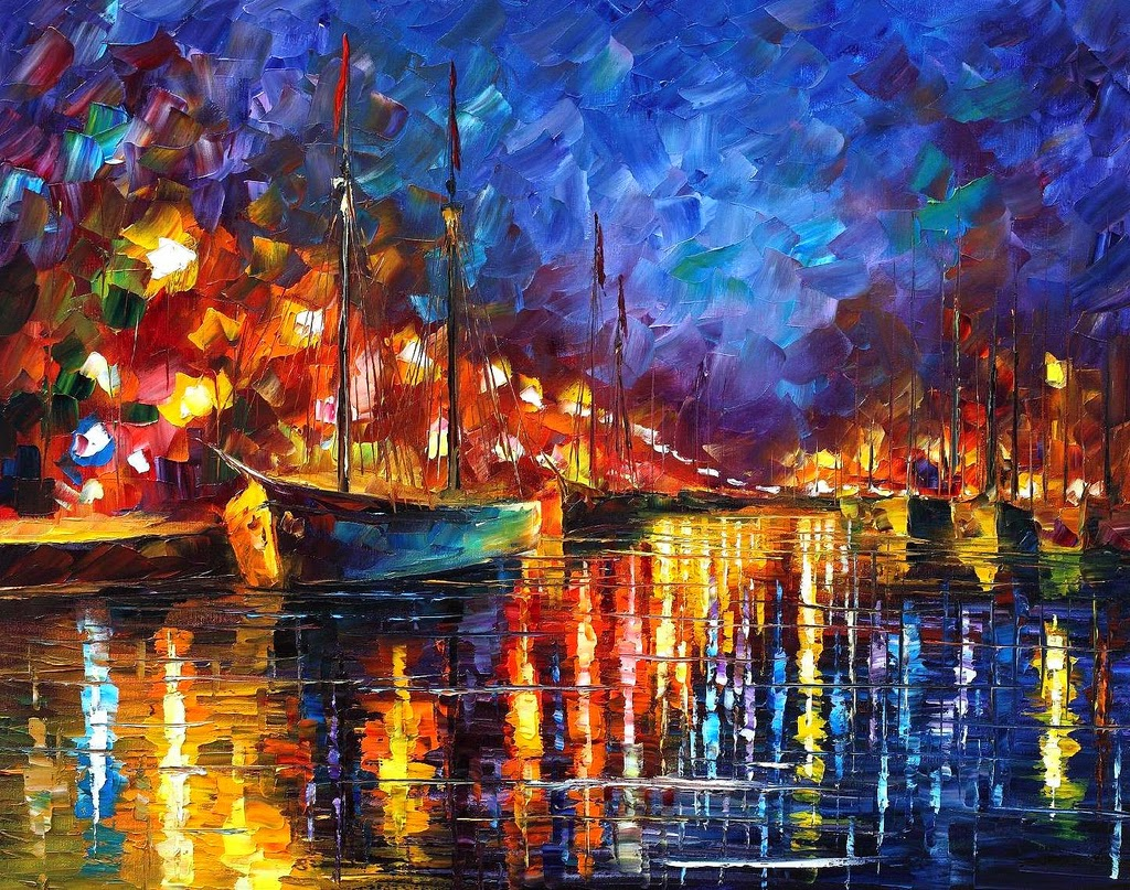 19-Leonid-Afremov-Expression-of-Love-for-the-Art-Of-Painting-www-designstack-co
