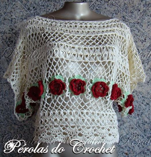Blusa Em Croche Peruano