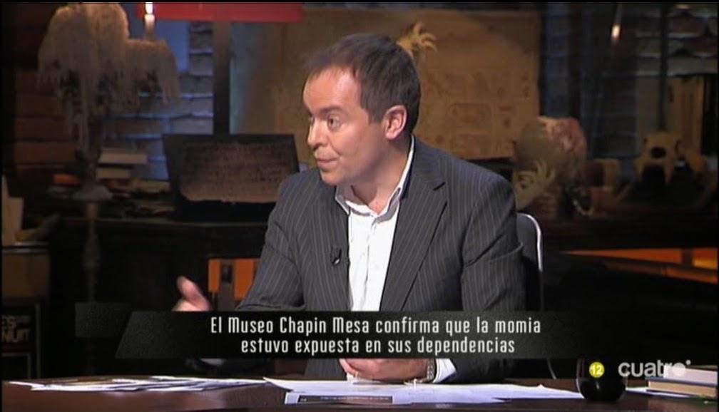 Ana luisa cid museo chapin exhibi a la momia for Cuarto milenio museo