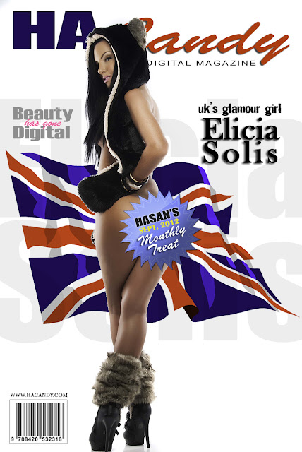 Too hot for TV - UK Glamour Model - Elicia Solis -