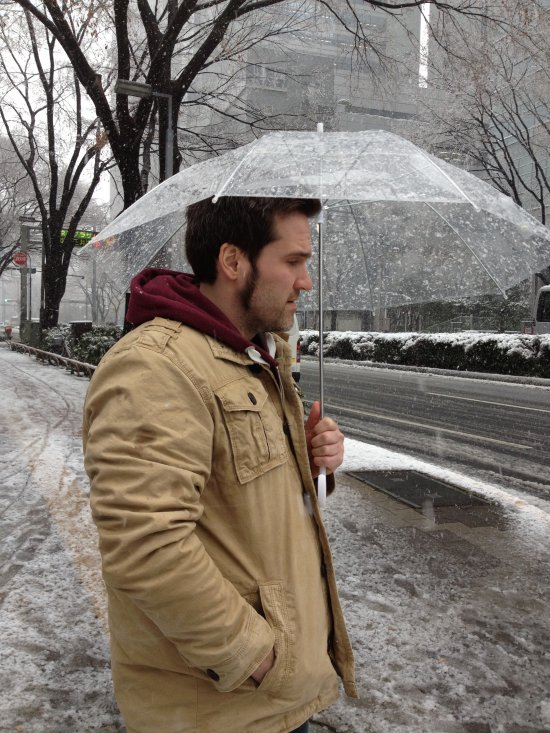 Tokyo Snow Storm