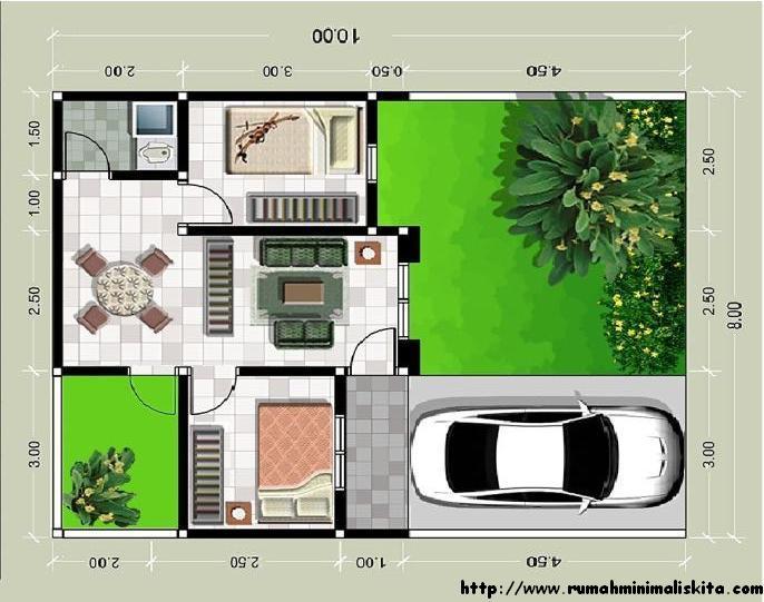 Contoh Desain Rumah Minimalis Modern Type 36  Desain Rumah Minimalis