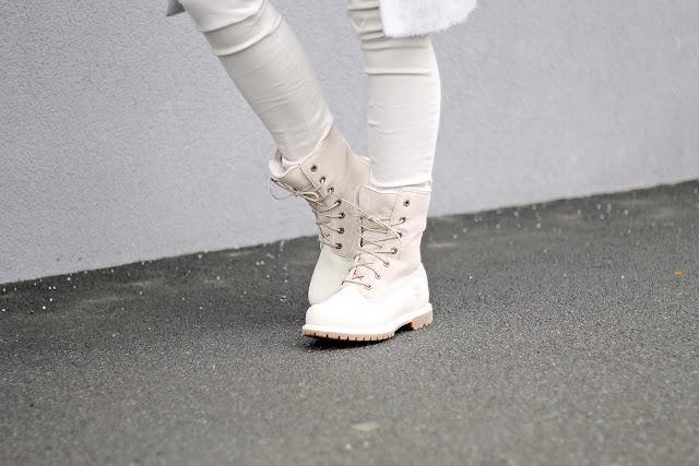 Timberland Boots Winter White