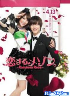 Cầu Vồng Hoa Hồng - Rainbow Rose